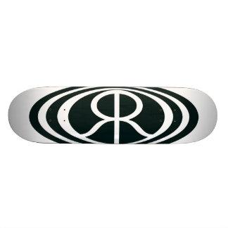 自然なQのロゴのスケートボード 20.6CM スケートボードデッキ