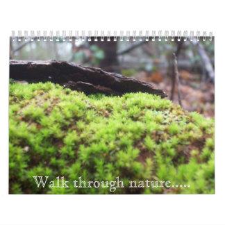 自然による歩行..... カレンダー