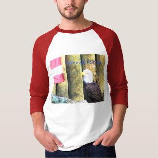 自然に政治 Tシャツ