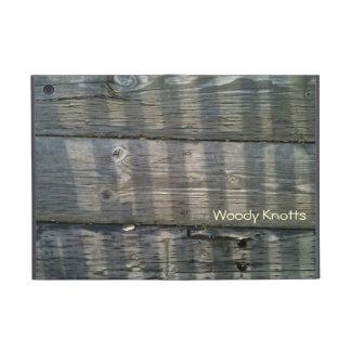 自然にSurfaces_Shadowのクールな板の木製のデッキ2 iPad Mini ケース