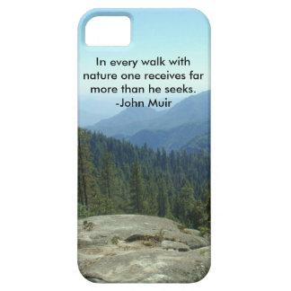自然のあらゆる歩行… -ジョンMuir iPhone SE/5/5s ケース