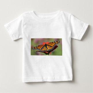 自然のおたくの規則の蝶大人のワイシャツ ベビーTシャツ