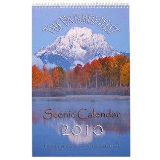 自然のままの西 カレンダー