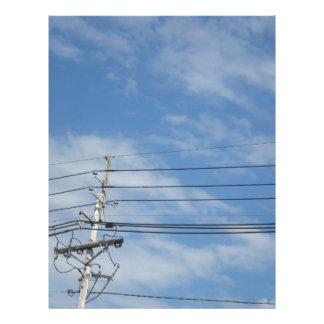 自然のスカイラインニュージャージー米国はギフトnvn673のfuを曇らせます レターヘッド