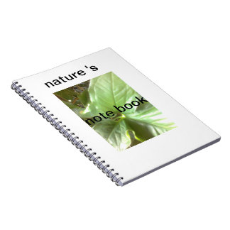 自然のノート ノートブック