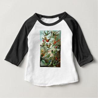 自然のプリントの1899年のハチドリ種の芸術的な表現形式 ベビーTシャツ