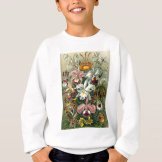 自然のプリントの1904の蘭の芸術的な表現形式 スウェットシャツ