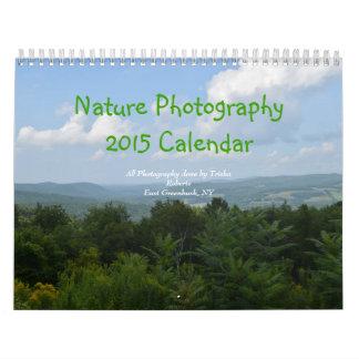 自然の写真撮影のカレンダー2015年 カレンダー