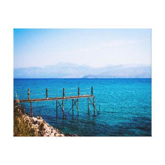 自然の写真撮影|水|景色 キャンバスプリント