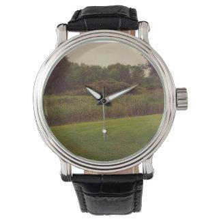 自然の土地の腕時計 腕時計
