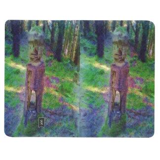 自然の彫像 ポケットジャーナル