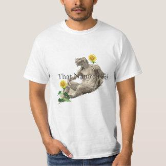 自然の感じ Tシャツ