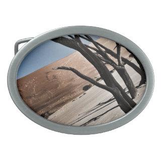 自然の砂漠のベルトの留め金 卵形バックル