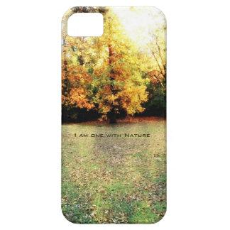 自然のIphone 5の場合との1つ iPhone SE/5/5s ケース