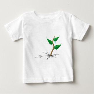 自然はすべてを征服します ベビーTシャツ