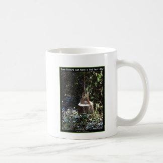 自然は悪い毛日を過すことができます! ギフトの服装 コーヒーマグカップ