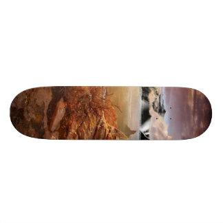 自然は残ります スケートボードデッキ