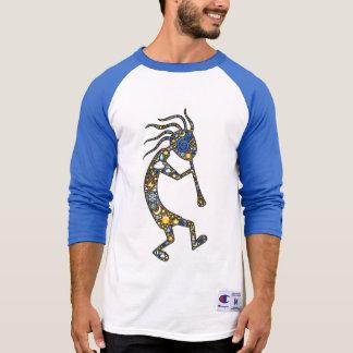 自然アイコンのココペリのemoji芸術、及び足は印刷します tシャツ