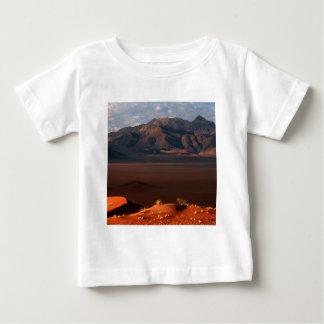 自然力の夜明けのナミブ砂漠ナミビア ベビーTシャツ