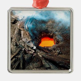自然力のKilaueaハワイの火山 メタルオーナメント