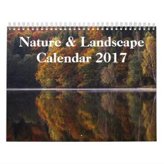 自然及び景色の写真撮影2017年 カレンダー