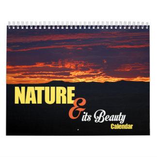 自然及び美しいのカレンダー カレンダー