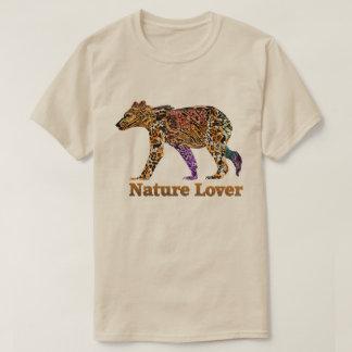 自然恋人のハイイログマのTシャツ Tシャツ