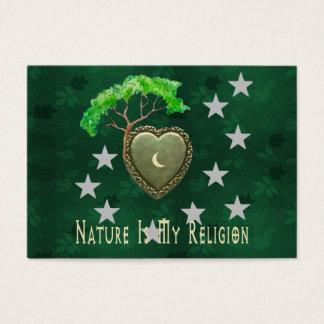 自然教会 名刺