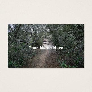 自然歩道 名刺