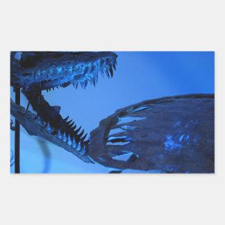 自然科学のヒューストン博物館 長方形シール