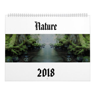 自然2018年 カレンダー