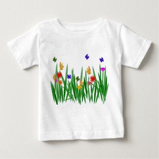 自然 ベビーTシャツ
