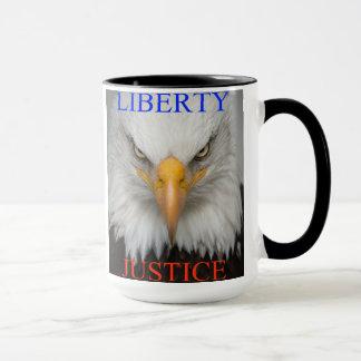 自由および正義 マグカップ
