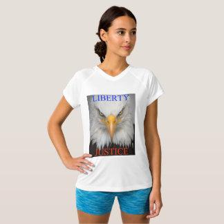 自由および正義 Tシャツ