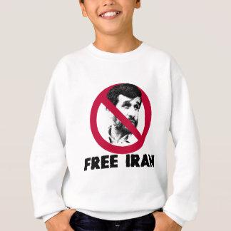 自由なイラン- Ahmadinejad スウェットシャツ