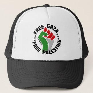自由なガザはパレスチナを放します キャップ
