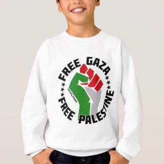 自由なガザはパレスチナを放します スウェットシャツ