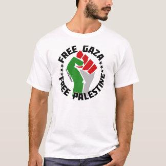 自由なガザはパレスチナを放します Tシャツ