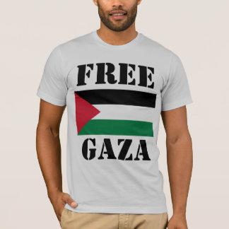 自由なガザ Tシャツ