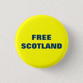 自由なスコットランドPinback 3.2cm 丸型バッジ