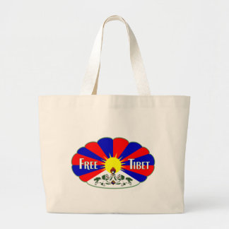 自由なチベット ラージトートバッグ