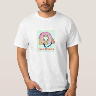自由なドーナツ Tシャツ