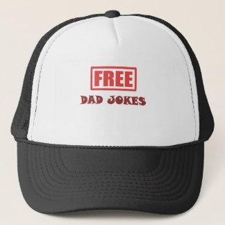 自由なパパの冗談 キャップ