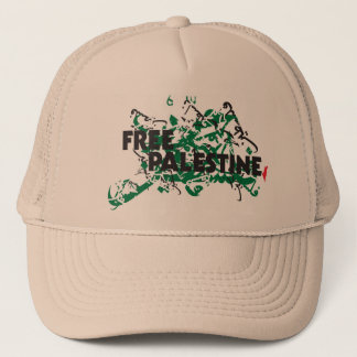 自由なパレスチナのカーキ色の制服の帽子 キャップ