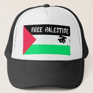 自由なパレスチナ- فلسطينعلم -パレスチナの旗 キャップ