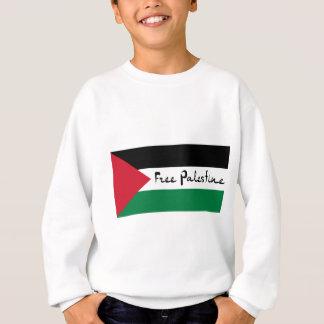 自由なパレスチナ- فلسطينعلم -パレスチナの旗 スウェットシャツ