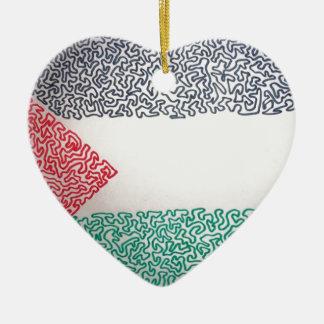 自由なパレスチナ セラミックオーナメント