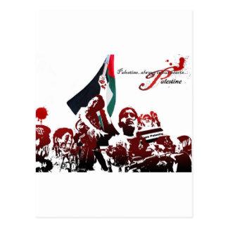 自由なパレスチナ ポストカード