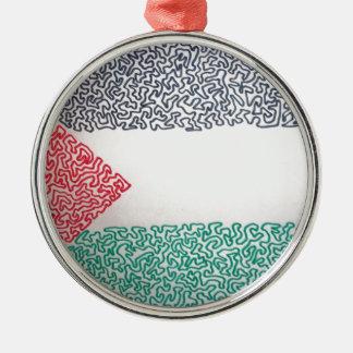 自由なパレスチナ メタルオーナメント