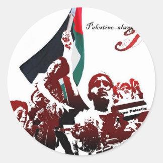 自由なパレスチナ ラウンドシール
